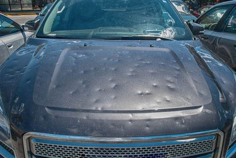 car hail damage repair in st louis